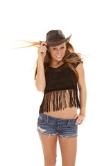 wind blow hat