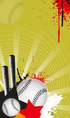 Baseball batter background. (web, magazine, flyer, poster)