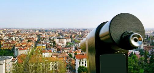 View to the Bergamo.