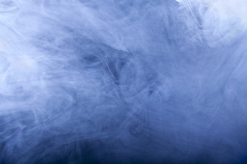 clear blue smoke background with light screen shades