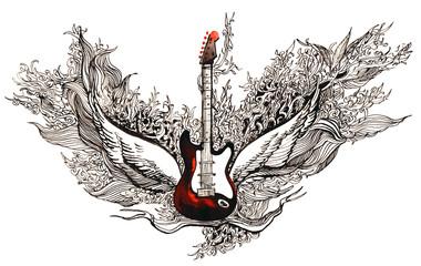 rock guitar (series C)
