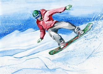 snowboarder (series C)