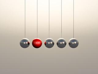Newton Cradle spheres