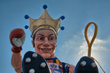 Roi du carnaval de nice 2012