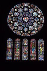 Foto op Plexiglas Stained vitraux