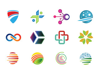 0134 Various Abstract Icons 8