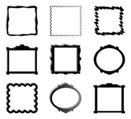 Rahmen Collage Vector