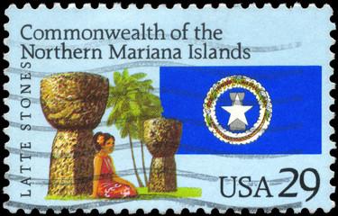 USA - CIRCA 1993 Mariana Islands