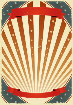 American Fourth Of July Banners