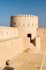 Sunaysilah Castle or Fort in Sur. Oman