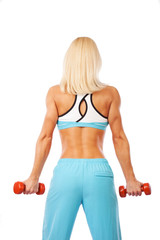 Image of sexy athletic woman