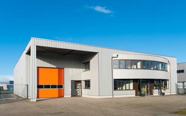 Spoed Foto op Canvas Industrial geb. modern office building