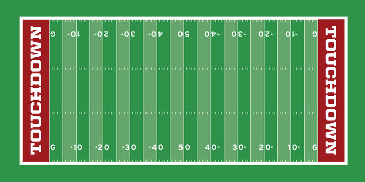 Football Field Illustration