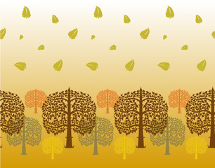Bodhi tree vector