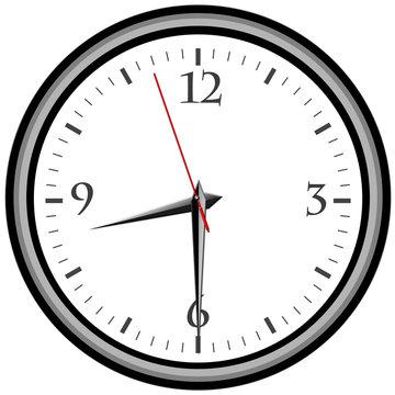 Uhr - Uhrzeit 8:30 am / pm