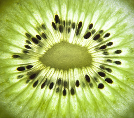 Healthy food background. Kiwi.