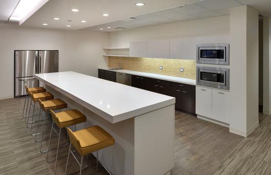 Modern community lunch room