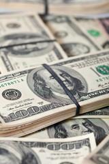 US dollars bank notes