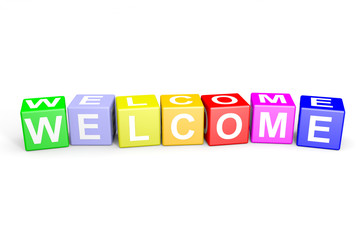Welcome colorful cubes.