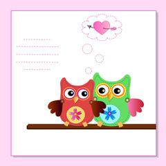 little sweet owls message