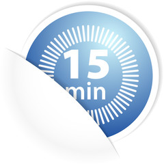 15min label