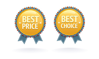 Best price and choice labels