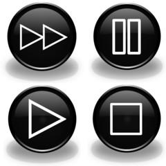 music bottons
