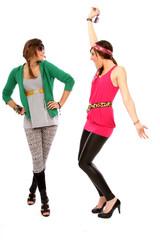 Girls beim tanzen