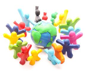 unser buntes Team für Planet Erde
