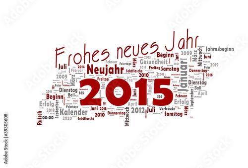 Frohes neues Jahr 2015\