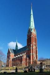 Saint Johannes Churh in Stockholm, Sweden