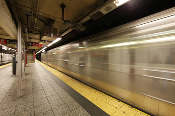 U-Bahn in New York