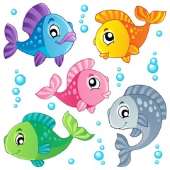 Various cute fishes collection 3
