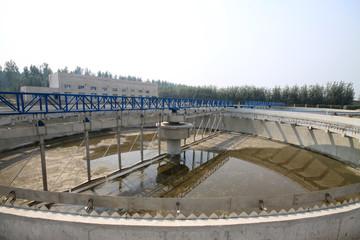 sewage treatment works building facilities
