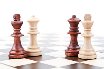 Chess pair isolated