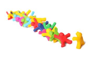 Domino Effekt - Ich erlaube niemanden nach mir!