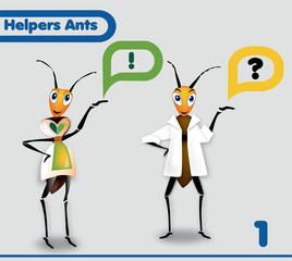 Helpers Ants