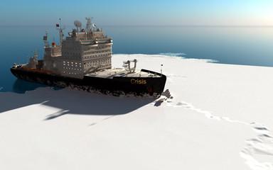 Icebreaker Fototapete