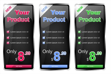 banners price tags