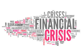 "Word Cloud ""Financial Crisis"""