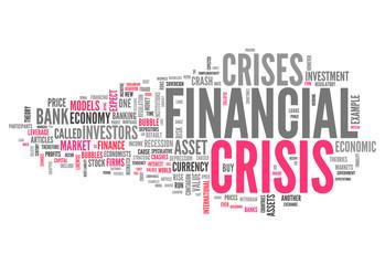 "Word Cloud ""Financial Crisis"""