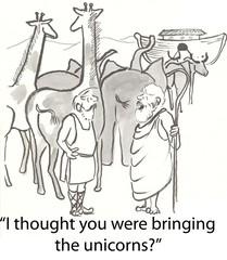 Noah's unicorns