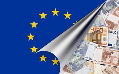 europa euro geld geldscheine flagge