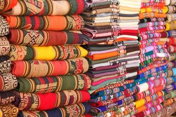 Bolivian (Andes region) traditional fabrics