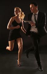 Bond und Bondgirl