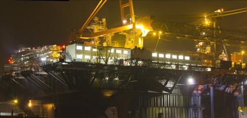 Large deepwater construction vessel (DCV)