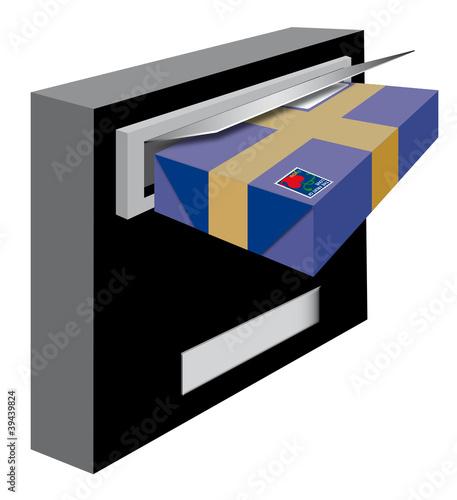 paket liebe post briefkasten brieftraeger stockfotos und lizenzfreie bilder auf fotolia. Black Bedroom Furniture Sets. Home Design Ideas