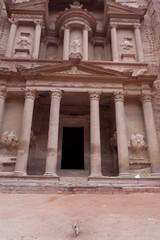 Facade of the Treasury - Al Khazneh - Petra - Jordan
