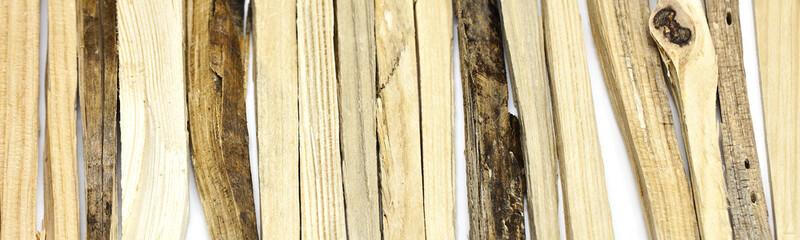 Holzstücke Brennholz