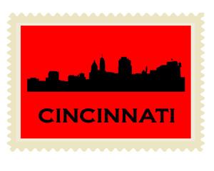 Cincinnati stamp